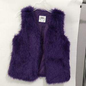 Justice girls vest size 16 EUC